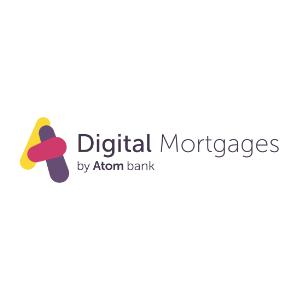 Digital Mortgages by Atom Bank logo