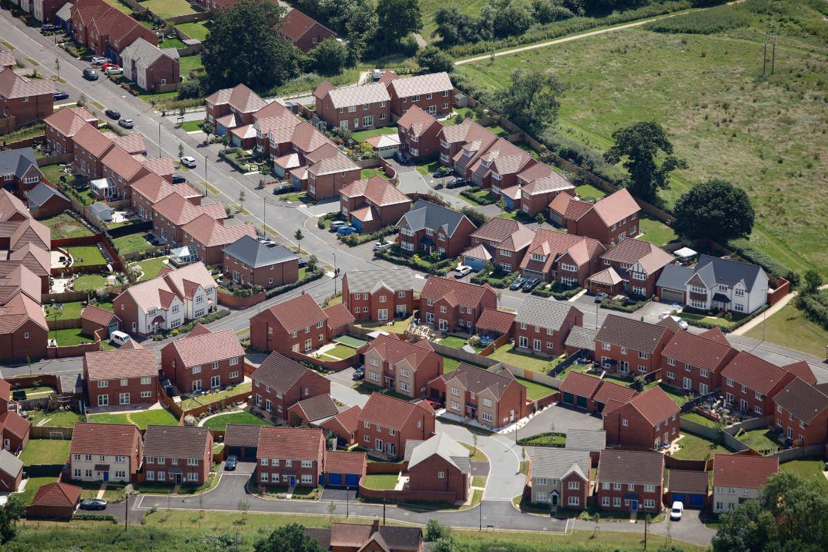 new build homes England